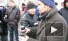 Полиция запретила митингующим согреваться горячим чаем