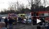 Спасатели вырезали двух погибших из покореженной машины на Вербной