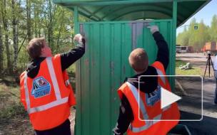 Безработные приступили к обустройству дорог в Ленобласти