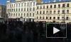 На первомайском шествии в Петербурге задержали более 65 человек