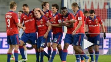 ЦСКА победил в Самаре