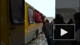 В Якутии из-за гололеда ПАЗ с пассажирами вылетел ...