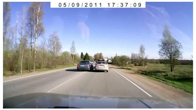 Хамское поведение на дороге