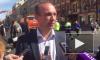 Видео: на Невском проспекте продолжается ремонт асфальта
