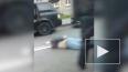 Видео: на Ленсовета полиция жестко задержала мужчину