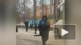 """Видео: ДТП на Комсомола """"Лада"""" врезалась в автобус"""