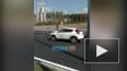 Видео: на Парашютной улице столкнулись иномарки