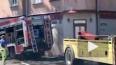 В Риге пожарная машина, спешащая на вызов, из-за ДТП вле...