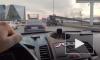 Очевидец: на Малоохтинской легковушка въехала в опору люльки