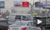 Петербург снова стоял в аномальных утренних пробках