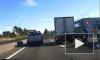 В Купчино велосипедист попал под машину и сбежал с места ДТП
