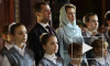 Медведев поздравил россиян с Рождеством через Твиттер из Храма Христа Спасителя