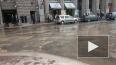"Караванную улицу затопило из-за прорыва трубы у ""Дома ..."