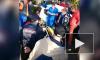 На ралли в Сестрорецке гоночный автомобиль врезался в дерево