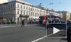 """Видео: """"Ленинград"""" сыграли передвижной концерт на Невском проспекте"""