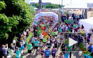 """В Парке 300-летия прошел """"Зеленый марафон """"Бегущие сердца"""""""