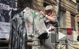 "Fashion против Fashizma. В дворике Рахманинова ""избавились"" от Гальяно"