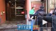 Появилось видео задержания петербуржца, кинувшего ...
