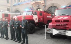 Сотрудники МЧС Выборгского района приняли участие во Всероссийской минуте молчания