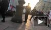 #мынебудемчай: на видео попал момент задержания чайных промоутеров на Невском