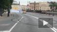 Дрифтеры испортили велодорожку в центре Петербурга