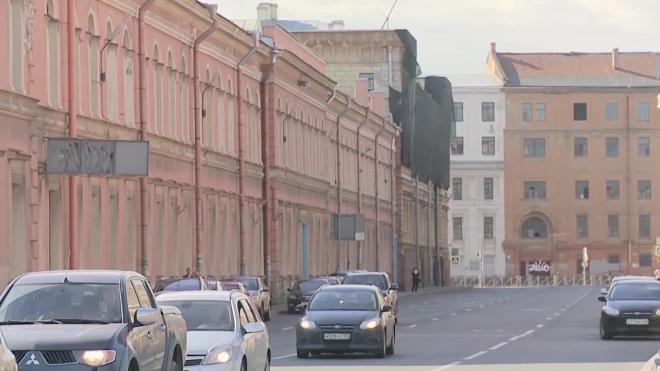 Ограничения движения в Петербурге: схема