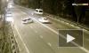 Жуткое видео из Сочи: Водитель - нарушитель вылетел через окно авто во время ДТП
