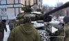 Британский журналист снял на видео украинские танки в Авдеевке