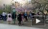 Видео: в сквере Дружбы расцвела сакура
