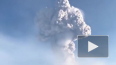 Опубликовано видео с проснувшимся вулканом Шивелуч ...