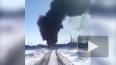 Ужасающее видео: машина с горючим выгорела дотла на Алта...