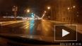 На Малоохтинском проспекте Nissan Patrol вылетел на встр...