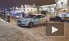 """Видео: рядом с """"Сенной"""" иномарка сбила пешехода"""
