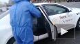 Петербургские таксисты показали дезинфекцию такси ...