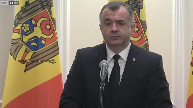 Премьер Молдавии сообщил, что сменит министров от Демпартии в правительстве