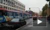 В Красногвардейском районе образовалась пробка из троллейбусов