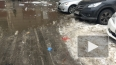 На Московском льдина разбила голову мужчине