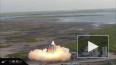 Пожар на космическом корабле SpaceX попал на видео