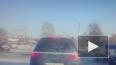 Появилось видео глупой аварии в Комсомольске-на-Амуре
