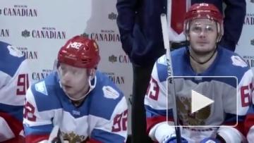 Кузнецов отыграл матч с Северной Америкой с микрофоном. Получилось веселее, чем у Овечкина