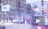 "Видео: В Новосибирске машина снесла пешеходов на ""островке безопасности"""