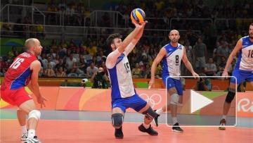 Мужская сборная по волейболу вышла в полуфинал Олимпийских игр со счетом 3:0