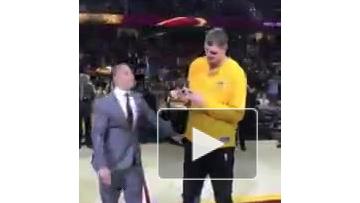Тимофей Мозгов получил чемпионский перстень