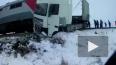 Петербургский поезд снес фуру
