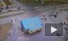 Видео: на пересечение Савушкина и Яхтенной произошло тройное ДТП