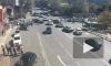 Массовое ДТП в Сочи попало на камеры видеонаблюдения