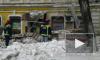 В сети опубликовано видео момента обрушения дома в Саратове и его последствий