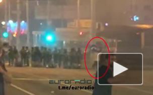 Момент убийства белоруса силовиками попал на видео