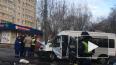 В Москве на Малой Филевской микроавтобус с детьми ...