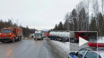 На М 5 в Челябинской области столкнулись 3 грузовика ...